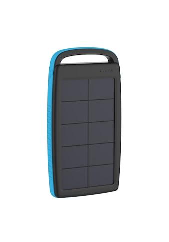 XLAYER Zusatzakku »Powerbank PLUS Solar Black/Blue 20000mAh Smartphon« kaufen
