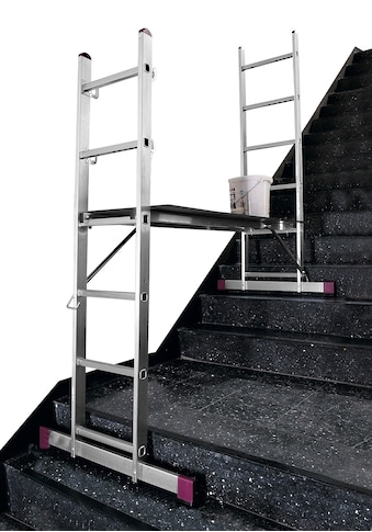 KRAUSE Leiterngerüst »CORDA«, 3 in 1, 2x6 Sprossen kaufen