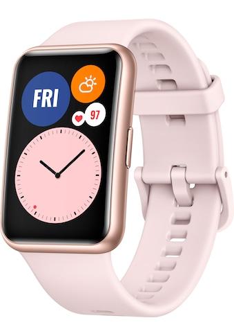 """Huawei Smartwatch »Watch Fit« (4,17 cm/1,64 """", 24 Monate Herstellergarantie kaufen"""