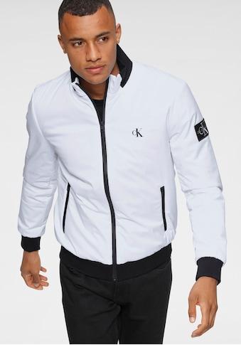 Calvin Klein Jeans Blouson »PADDED ZIP UP HARRINGTON« kaufen