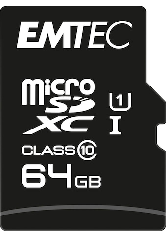 EMTEC Speicherkarte »microSD UHS-I U1 EliteGold«, ( Class 10 85 MB/s... kaufen