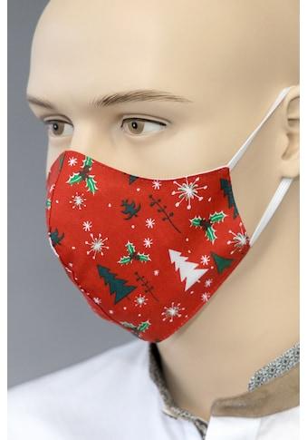 Love Nature Trachten Mund - Nasen - Maske Erwachsene mit Gummibänder kaufen
