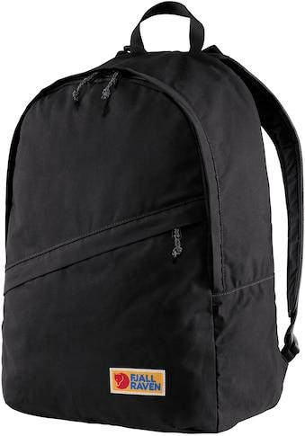 Fjällräven Laptoprucksack »Vardag 25, black«, aus recycelten Material kaufen