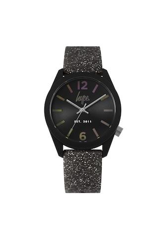 Hype Automatikuhr »Unisex Armbanduhr mit Glitzer - Design, analog« kaufen