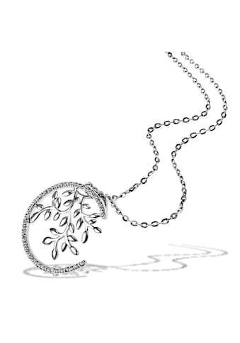goldmaid Collier, Bay Leaves 925/- Sterlingsilber 15 Zirkonia kaufen