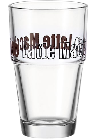 """LEONARDO Latte - Macchiato - Glas """"Solo"""" (6 - tlg.) kaufen"""