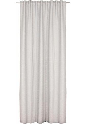 Vorhang, »FD Natural Moments Uni«, freundin Home Collection, verdeckte Schlaufen 1 Stück kaufen
