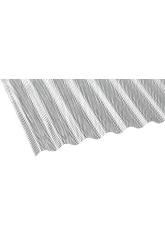 GUTTA Wellplatte »GUTTACRYL«, Acryl klar, Wabe, BxL: 104x200 cm kaufen