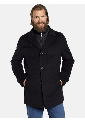 Jan Vanderstorm Langjacke »TJORVE«, elegante Wolljacke kaufen