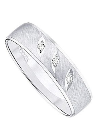 Firetti Trauring mit Gravur »glanz, quer gebürstet, Diamantschnitt, 5,0 mm breit«,... kaufen