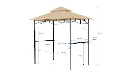 Grasekamp Pavillon, »BBQ« kaufen