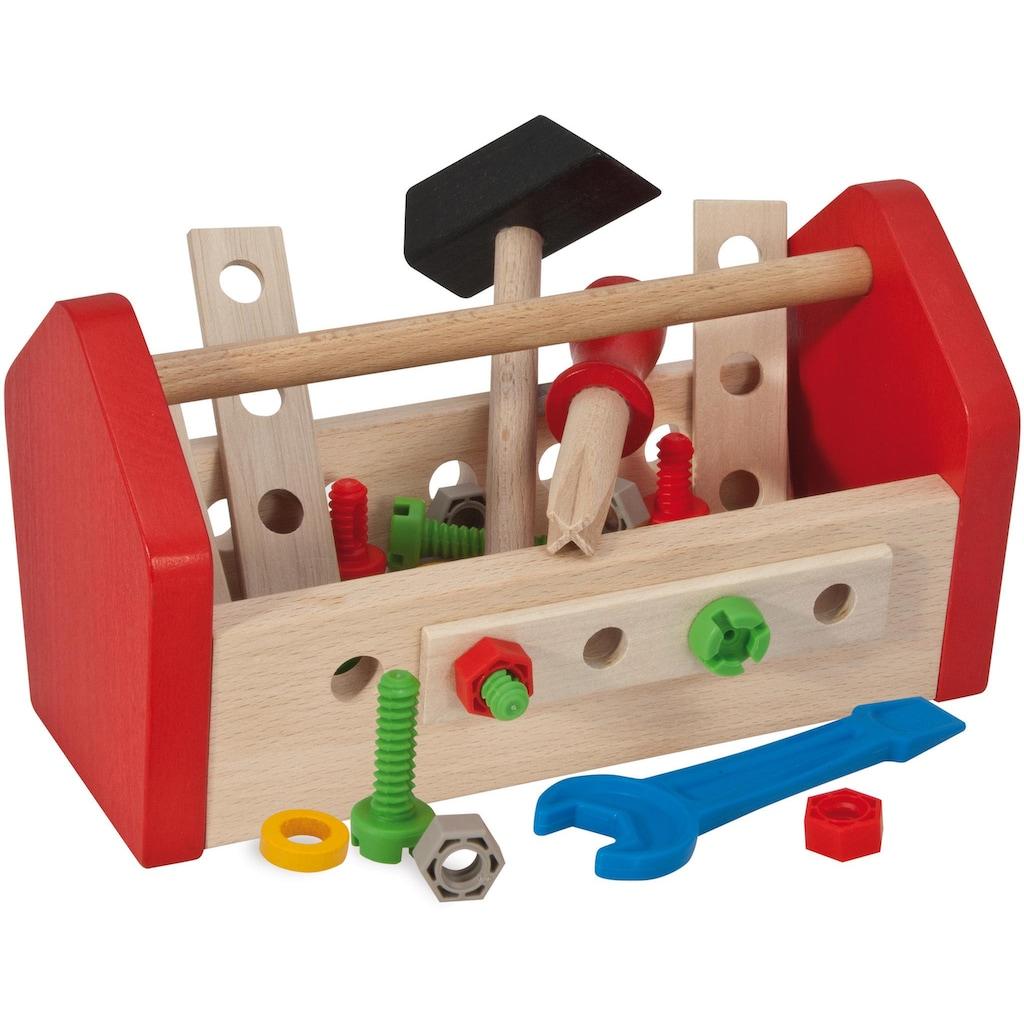 Eichhorn Spielwerkzeugkoffer »Werkzeugbox«, (Set), aus Holz, Made in Germany, FSC®-Holz aus gewissenhaft bewirtschafteten Wäldern