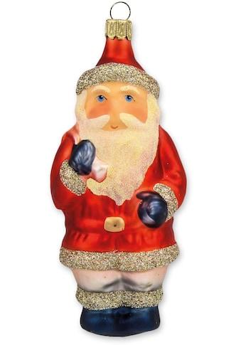"""Thüringer Glasdesign Christbaumschmuck """"Weihnachtsmann mit Sack"""" (1 - teilig) kaufen"""