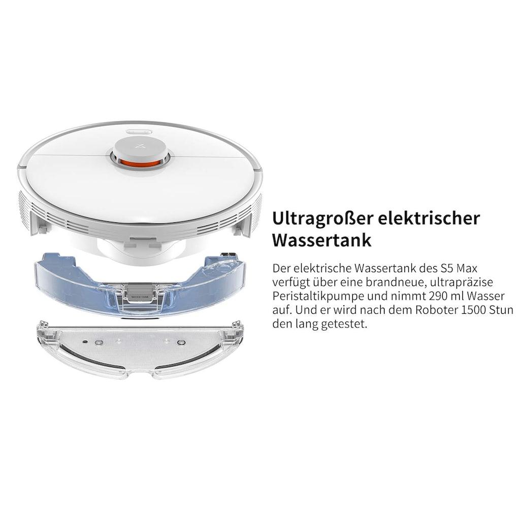 Roborock Wischroboter »S5 Max (2020 Version)«, LDS Navigation
