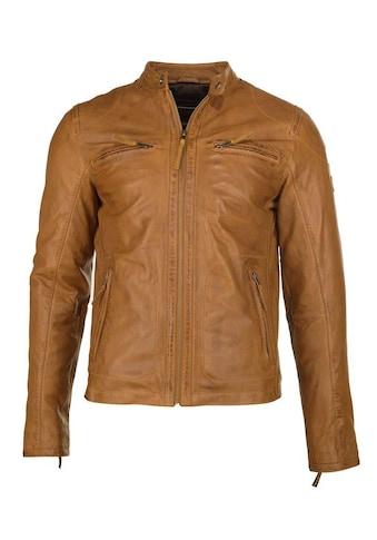 JCC Lederjacke »Macadam«, Lederjacke mit zwei Brusttaschen kaufen