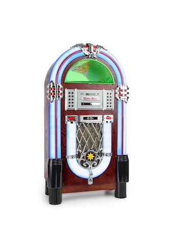 Auna Jukebox Bluetooth Phono CD USB SD MP3 AUX UKW »Graceland TT« kaufen