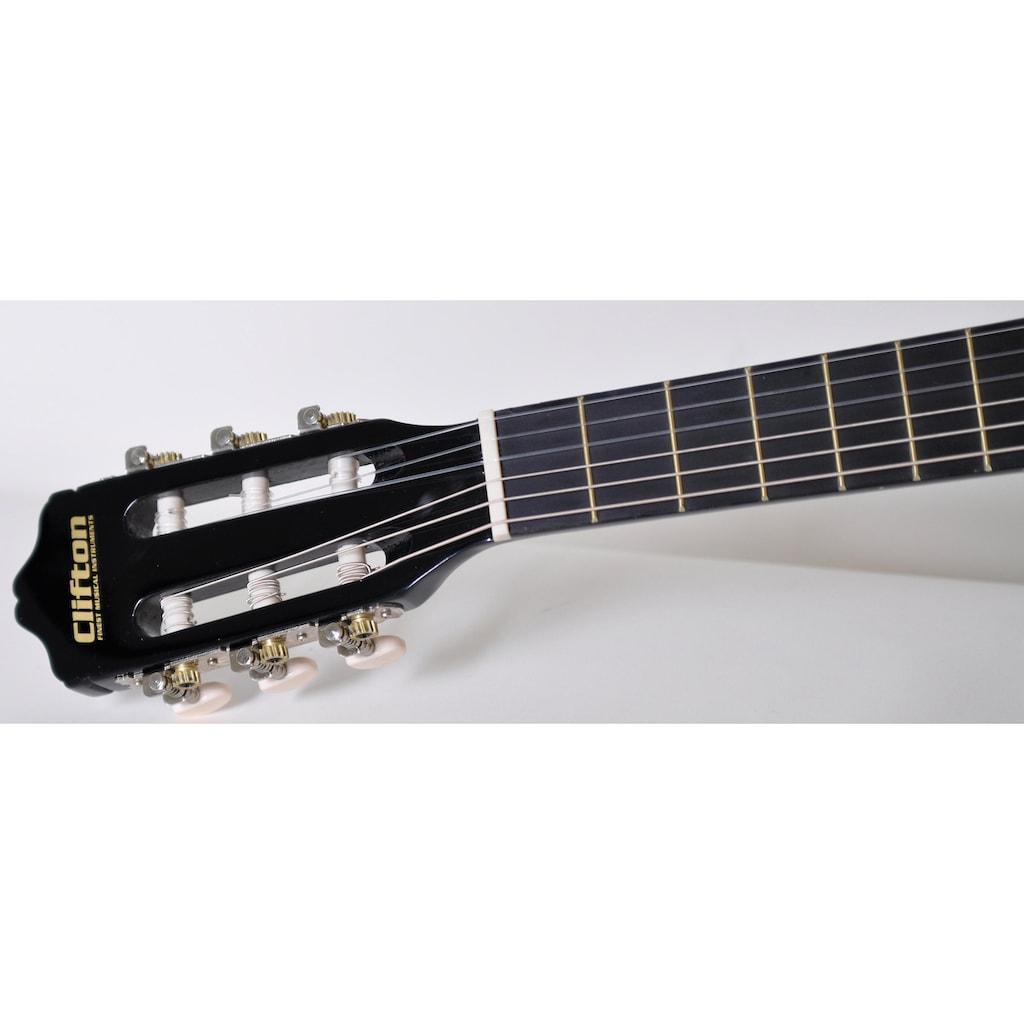 Clifton Konzertgitarre »Konzertgitarren Set, 4/4«, 4/4, Komplettset