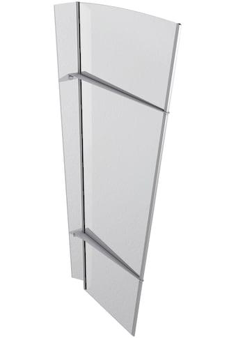 GUTTA Seitenblende »XL Edelstahl«, TxH: 55 - 85x167 cm, klar kaufen