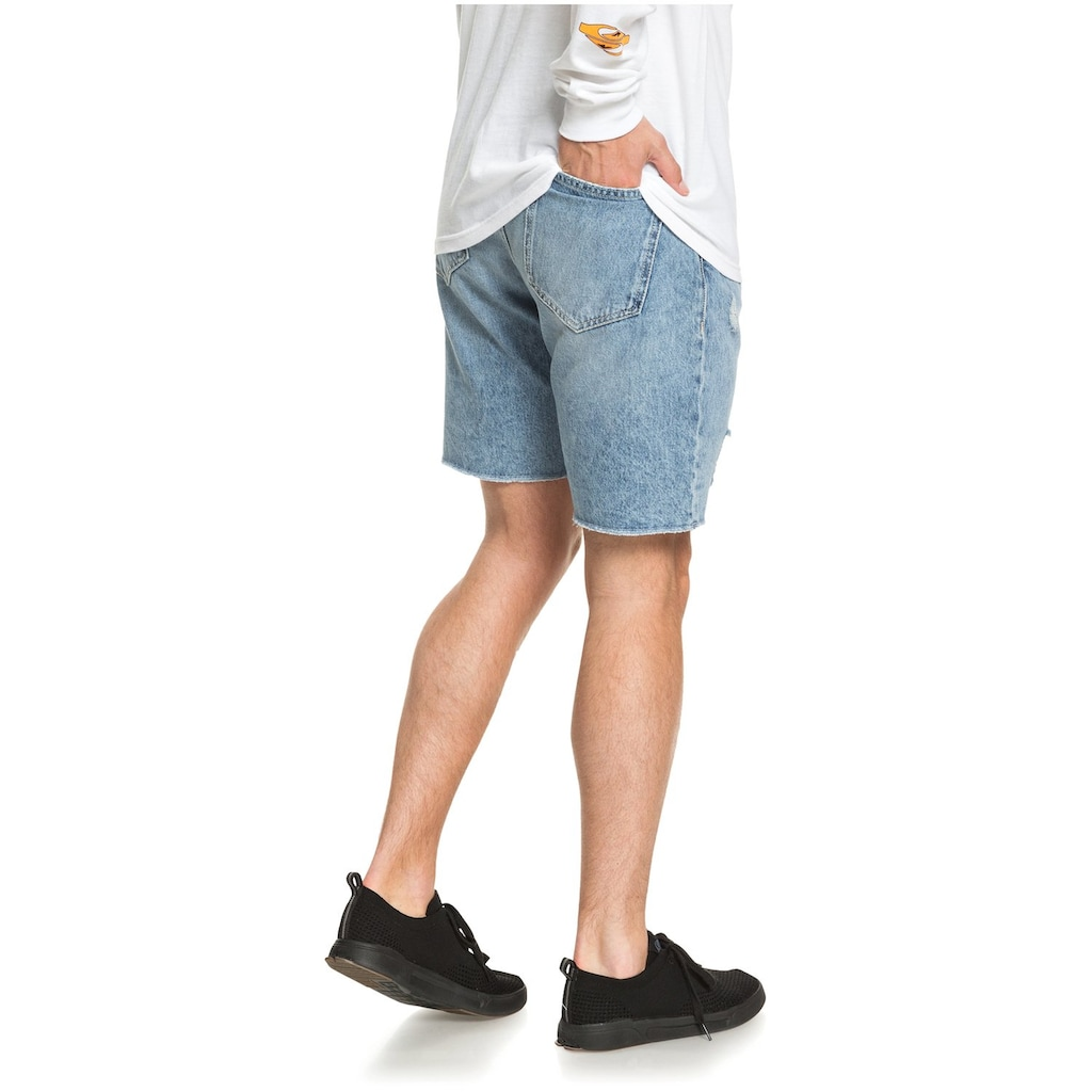 Quiksilver Jeansshorts »High Water Blue Rip«