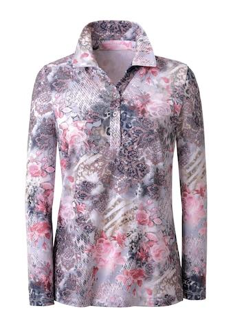 Classic Poloshirt mit offenem Hemdkragen kaufen