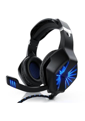 """CSL Gaming Headset """"GHS - 102"""" mit Mikrofon »Kopfhörer für Windows/Mac/Linux /PS4/PS4 Pro« kaufen"""