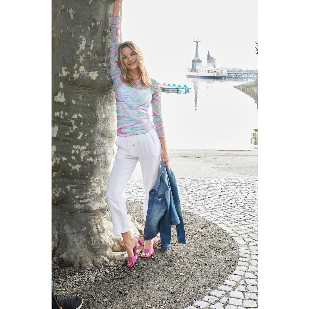 Aniston CASUAL Leinenhose, trageangenehm durch den Viskose-Anteil - NEUE KOLLEKTION