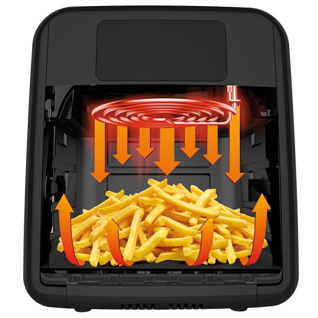 Tefal Heissluftfritteuse »FW5018 Easy Fry Oven & Grill«, 2000 W, 9 in 1; 7 Zubehörteile; 11 L; 6 Portionen; Temperaturkontrolle; Einfach zu Reinigen; Timer