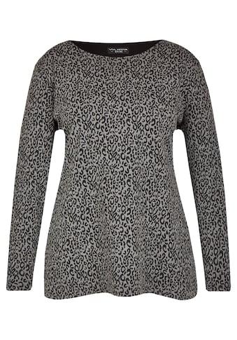 VIA APPIA DUE Feminines Sweatshirt im 2-in-1-Design Plus Size kaufen