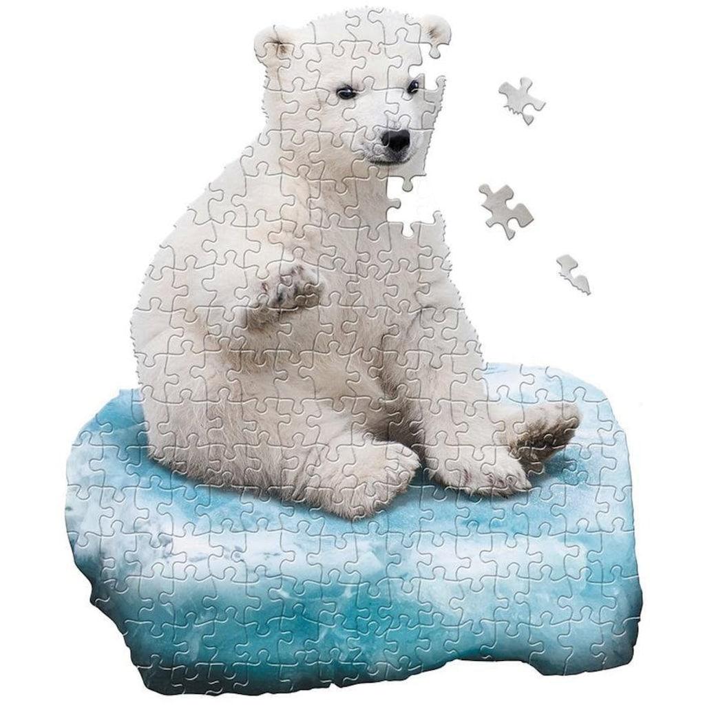 Konturenpuzzle »Junior Eisbär«