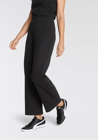 PUMA Palazzohose »HER Ribbed Wide Pants« kaufen