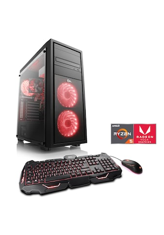 CSL »Sprint T8484 Windows 10 Home« Gaming - PC (AMD, Ryzen 5, 16 GB RAM, 1000 GB HDD, 500 GB SSD) kaufen