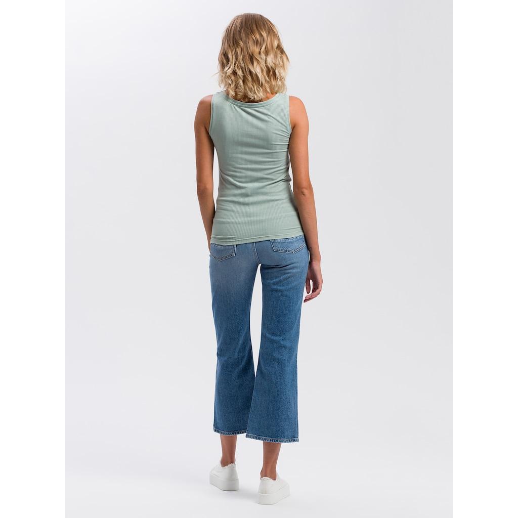 Cross Jeans® Tanktop »55524«, Ripp-Optik