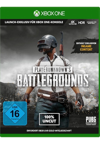 Playerunknown's Battleground v1.0 Xbox One kaufen