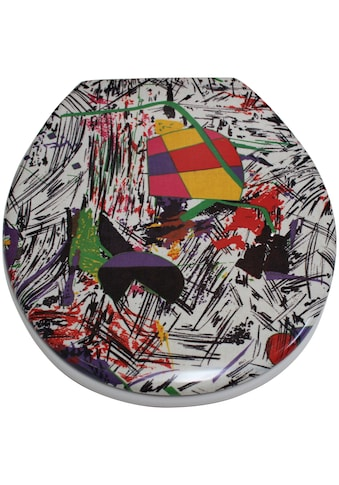 ADOB WC-Sitz »Nizza Grafitti«, sehr stabil, universal passend kaufen