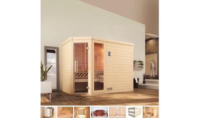 weka Sauna »Arendal 3«, 9 kW Ofen mit int. Steuerung kaufen
