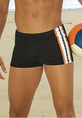 s.Oliver Beachwear Boxer-Badehose, mit Reißverschlusstasche kaufen