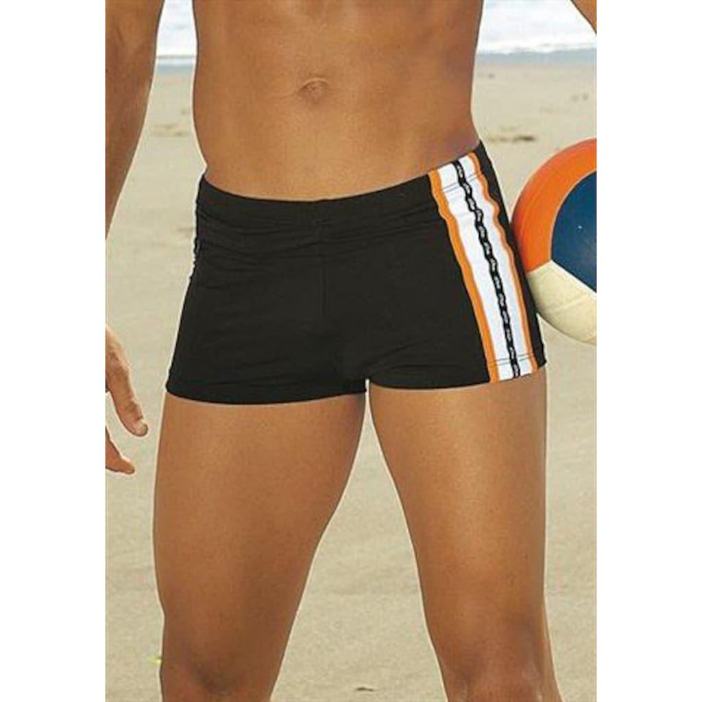 s.Oliver Boxer-Badehose, mit Reißverschlusstasche