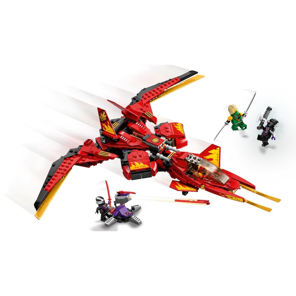 LEGO® Konstruktionsspielsteine »Kais Super-Jet (71704), LEGO® NINJAGO®«, (513 St.), Made in Europe