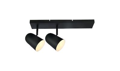 Brilliant Leuchten Deckenleuchten, E14, Ayr Spotbalken 2flg schwarz matt kaufen