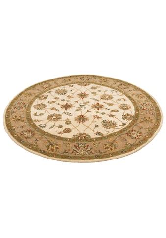 Wollteppich, »Sahil«, DELAVITA, rund, Höhe 14 mm, handgetuftet kaufen