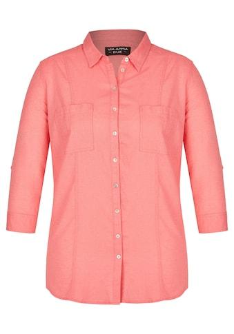 VIA APPIA DUE Lässige Bluse mit Brusttaschen kaufen
