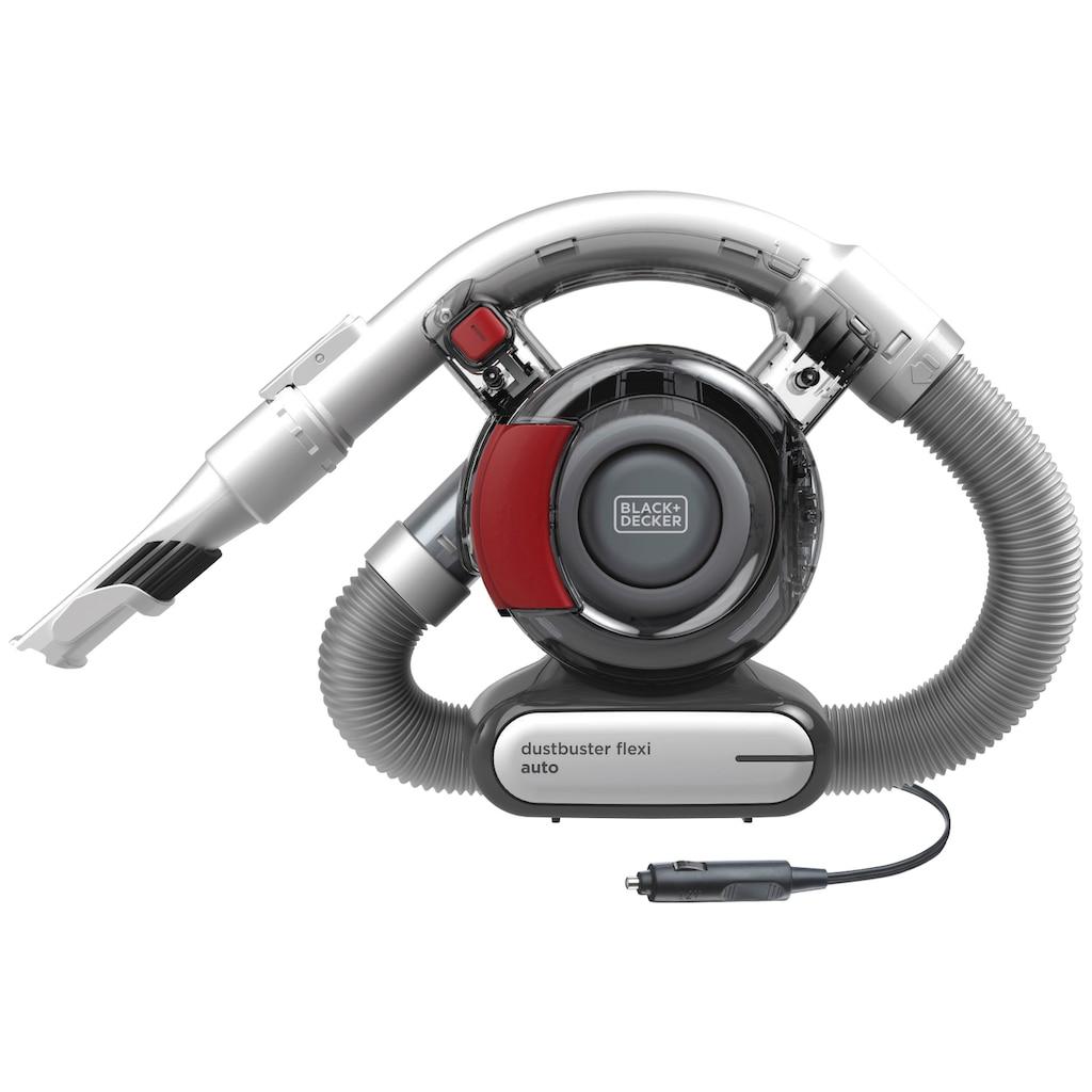 Black + Decker Akku-Handstaubsauger »Flexi«, fürs Auto, mit 12 V-Anschluss