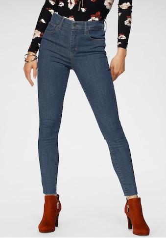 Levi's® Skinny-fit-Jeans »720 High Rise«, High Waist mit offenem Saum kaufen