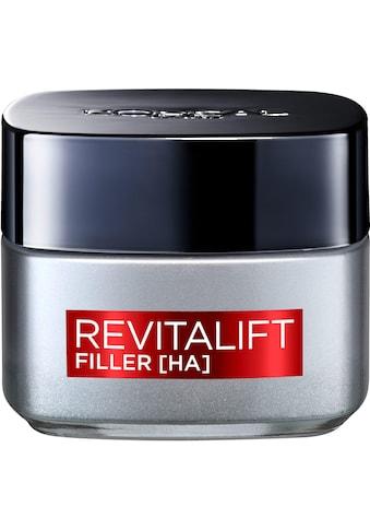 L'ORÉAL PARIS Anti-Aging-Creme »RevitaLift Filler Tag«, mit hochkonzentrierter Hyaluronsäure kaufen