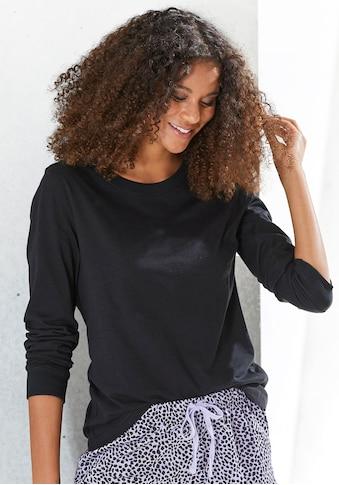Vivance Dreams Langarmshirt, mit Rippbündchen kaufen