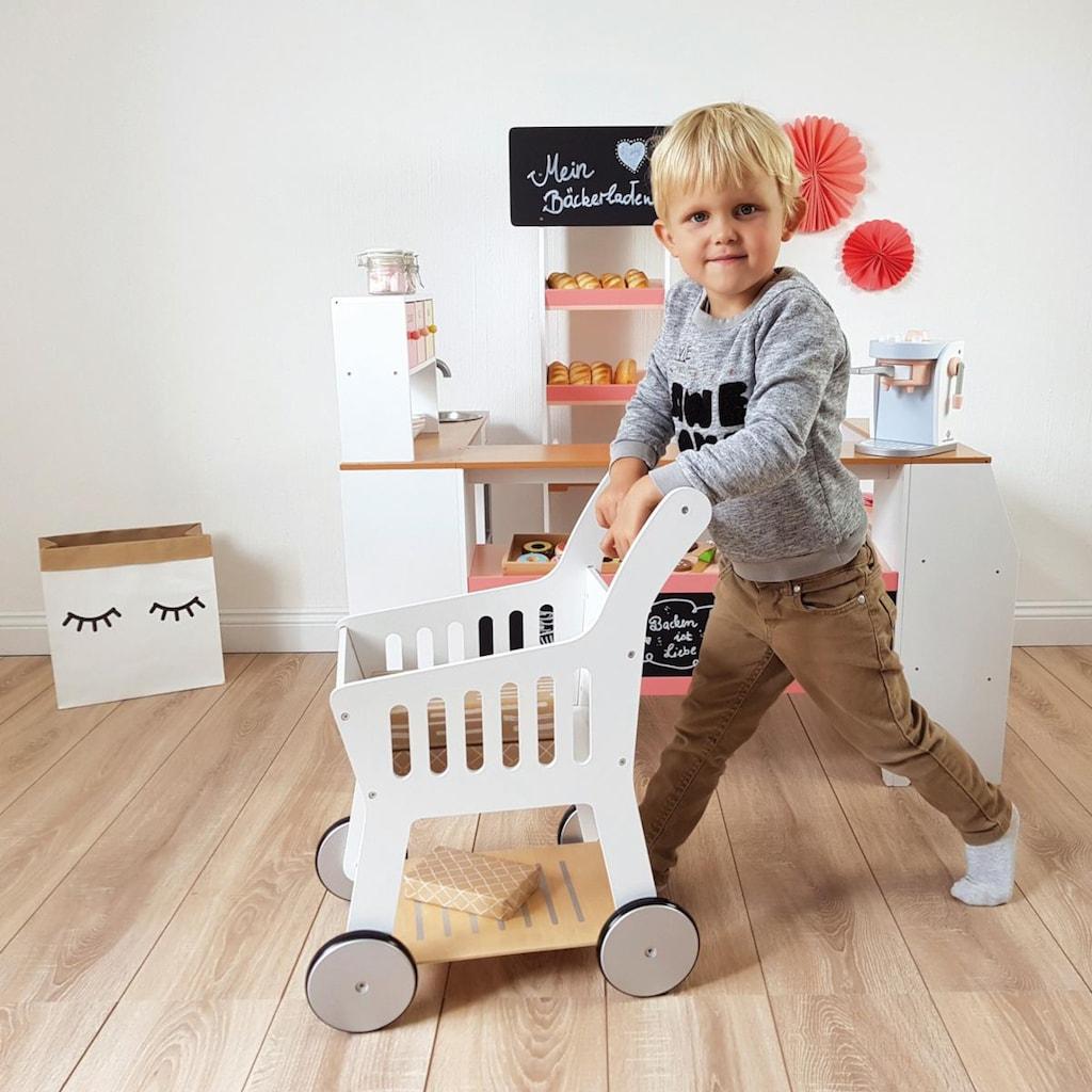 MUSTERKIND® Spiel-Einkaufswagen »Rubus, weiß«