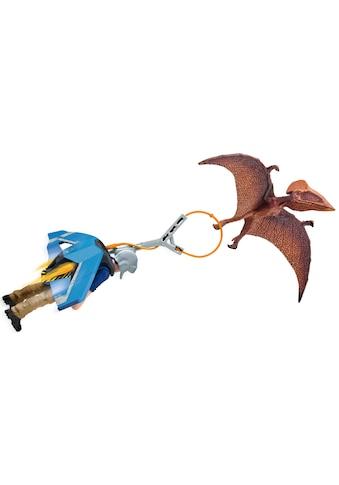 Schleich® Spielfigur »Dinosaurs, Jetpack Verfolgung (41467)«, mit besonderem Flugsaurier kaufen