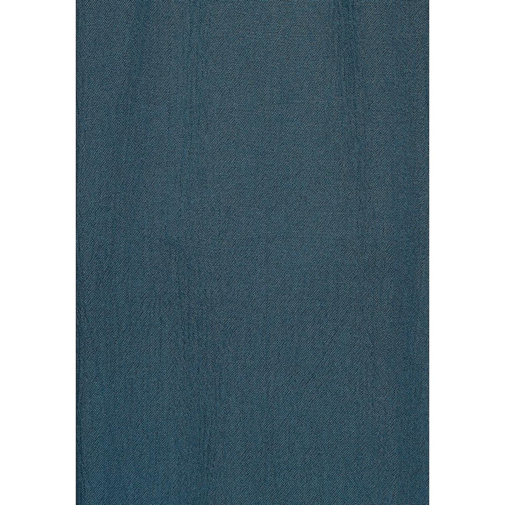 Boysen's Longbluse, in leichter Crinkle-Optik