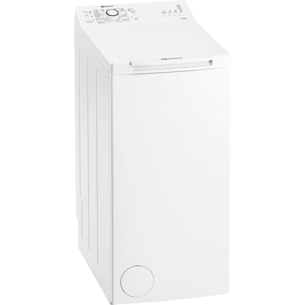 BAUKNECHT Waschmaschine Toplader »WAT Prime 550 SD N«, WAT Prime 550 SD N, 5,5 kg, 1000 U/min