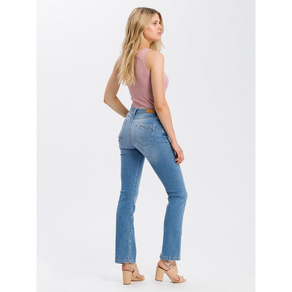 Cross Jeans® Regular-fit-Jeans »Lauren«, Leicht erhöhter Bund